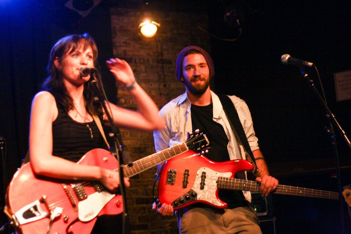 "Ann Driscoll and Devin ""Dabbo"" Caucci performed at Boston's Great Scott club in the summer of 2010."